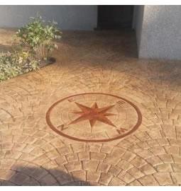 Entreprise de béton imprimé idf pour allée, terrasse et sol extérieur
